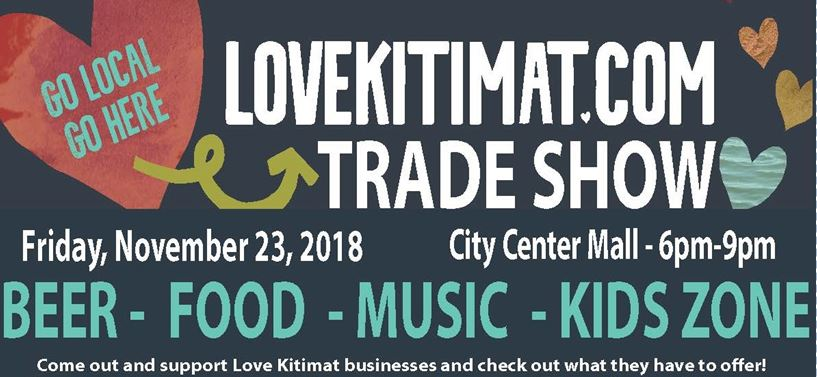 Love Kitimat trade show poster