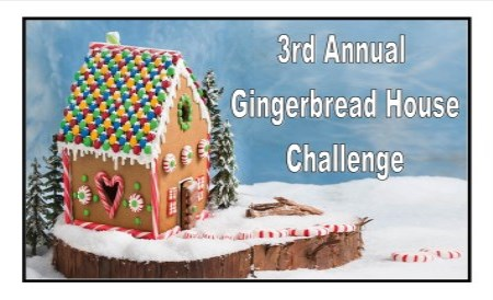 third annual gingerbread house challenge