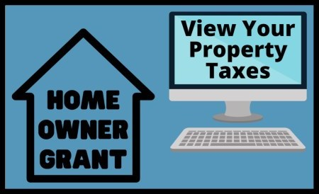 Home Owner Grant and View Your Property Taxes